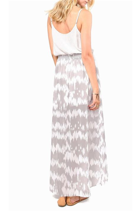 gentle fawn maxi tulip skirt from mar by unlabeled