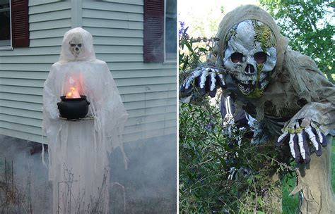 halloween themes for outside 90 cool outdoor halloween decorating ideas digsdigs