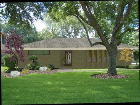 ranch style home landscaping ideas ranch style modular