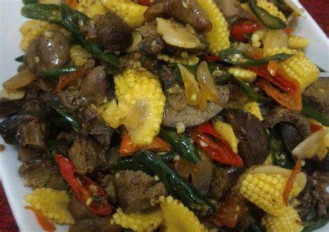 resep oseng janggel jagung muda oleh utami subowo cookpad