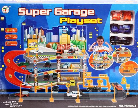 Parking Garage Cars Besar play set toys jual mainan