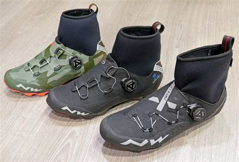 mountain bike winter shoes eb17 northwave flash raptors embrace cold with