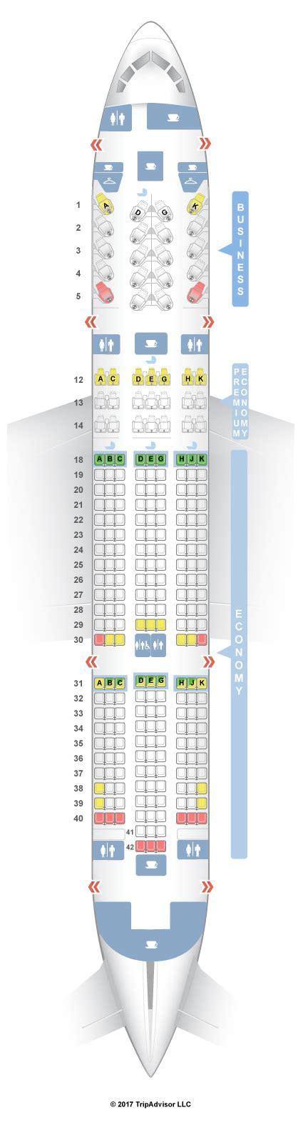 air canada seats seatguru seat map air canada boeing 787 8 788