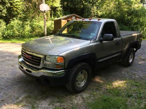 all car manuals free 2003 gmc sierra 1500 transmission control buy used 2003 gmc sierra sle z71 pickup in eden new york united states