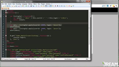 tutorial jquery template jquery re usable template tutorial youtube