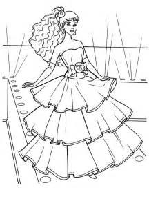 kids 7 princess coloring pages 2