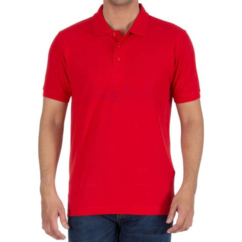 red t shirt layout buy red plain blank collar polo t shirts for men online