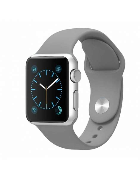 Nomad Sport Apple 42mm Band Silicone Black Grey apple sport band grey 38mm 42mm at low price