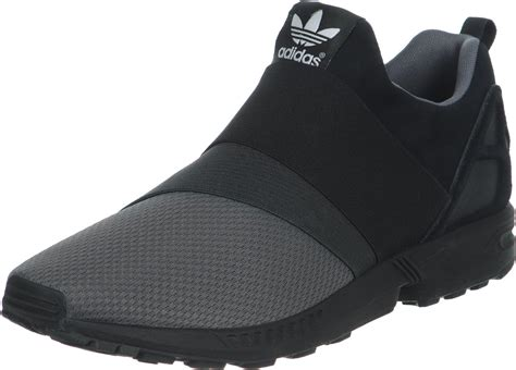 Addidas Slip On Premium adidas zx flux slip on shoes black grey