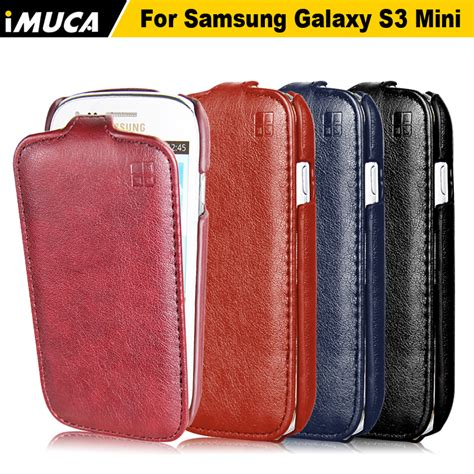 imuca for samsung s3 mini case luxury leather vertical