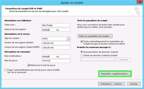Office 365 Zusätzliche Email Adresse Mail Mutualis 233 Guide Configuration Outlook 2013 Ovh