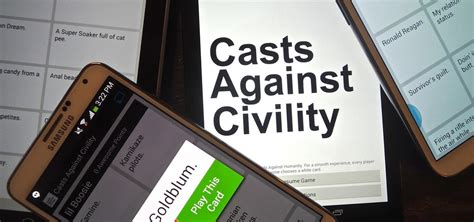 cards against humanity android updated the extremely vulgar hilarious quot cards against humanity quot has been cloned for