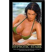 Hypnotic Stare  Demotivational Poster