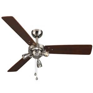 48 Ceiling Fan Shop Harbor Exocet 48 In Brushed Nickel Indoor