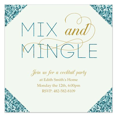 Sle Invitation For Meet And Greet Mix And Mingle Invitations Cards On Pingg