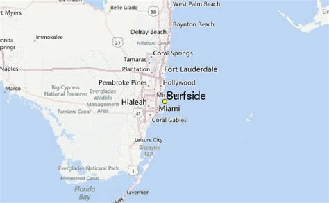 surfside map surfside weather station record historical weather for