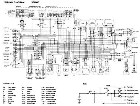elekra schema xj 650 1982 techniek vragen en antwoorden