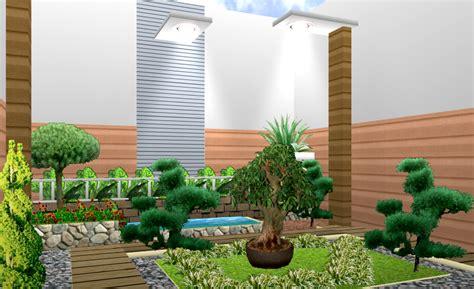 desain eksterior taman rumah minimalis cantik desain taman rumah minimalis