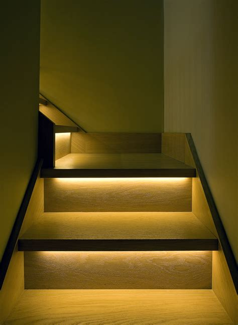 stair lighting led staircase lighting brilliant lighting