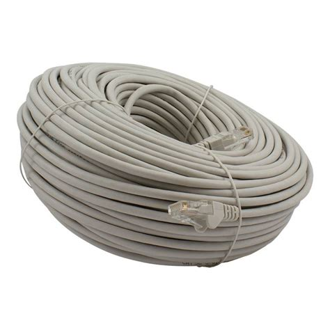 Kabel Lan 50 Meter utp netzwerkkabel mit rj45 steckverbinder 50 meter grau arguscom