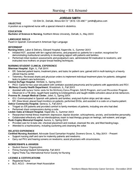 Icu Resume Responsibilities Sle Icu Resume Resumes Design