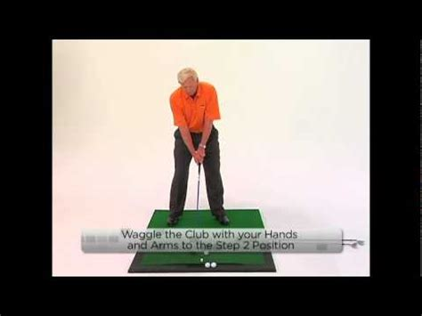 8 step swing lesson 2 the right arm exle 8 step golf swing 2