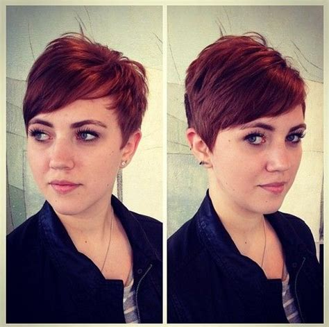 are side cut hairstyles still in fashion 2015 red pixie red pixie cuts and pixie cuts on pinterest