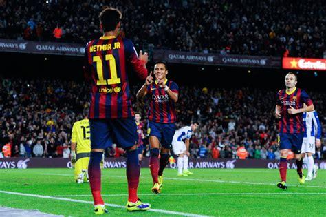 alexis sanchez neymar alexis sanchez neymar photos photos fc barcelona v rcd