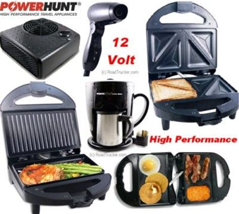 12 volt kitchen appliances power hunt 12 volt high performance appliances mobile
