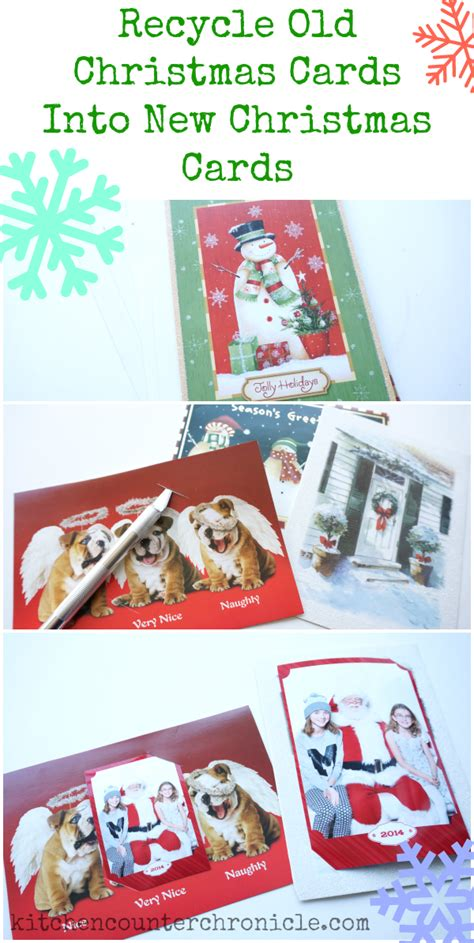 Gift Card Recycle Canada - simple recycled christmas cards