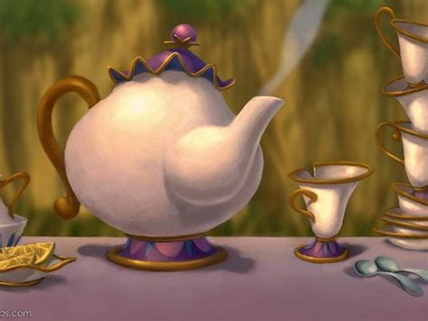 beauty and the beast pot mrs potts and chip from disney s beauty and the beast