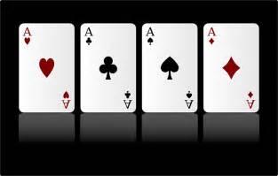 image vectorielle gratuite cartes jeu aces quatre diamants image gratuite sur pixabay
