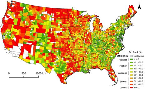 population map united states study maps development one county at a time