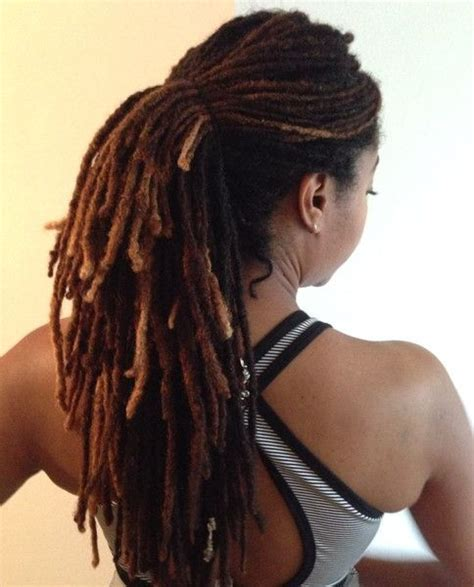 how to pack dreads in styles 213 best women s dreadlocks images on pinterest black
