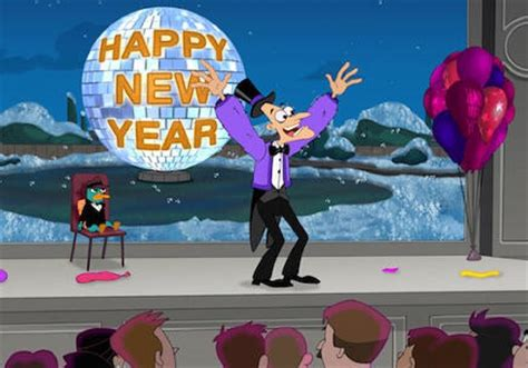 phineas and ferb new year happy new year disney wiki