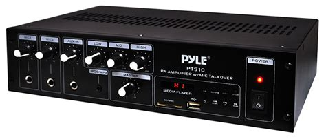 Power Lifier 240 Watt pyle home pt510 240 watt address power lifier w media mode selector pyl13 pt510
