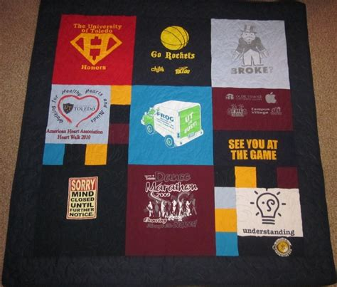 T Shirt Quilt Prices by Sylvania Quilting T Shirt Quilt Pricing