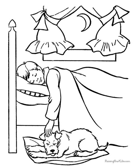 sleeping coloring page sleeping dogs coloring pages 112
