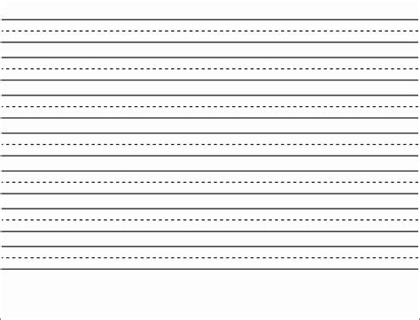 printable lined paper grade 3 1st grade writing paper template worksheets for all