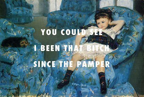 little girl in the blue armchair hiphoplyrics en klassieke schilderijen gaan echt heel goed