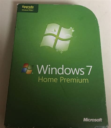 microsoft windows 7 home premium 32 64 bit os product