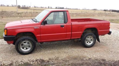 dodge mitsubishi truck 1992 dodge ram 50 mitsubishi toyota 4x4 truck for