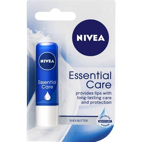 Nivea Lip Care Essential Care 4 8g nivea lip care balm essentials 4 8g woolworths