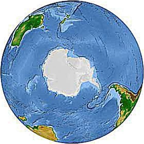 geography of the southern hemisphere and facts