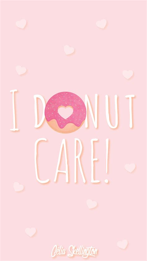 girl themes iphone pink girl pastel donut love iphone home wallpaper panpins
