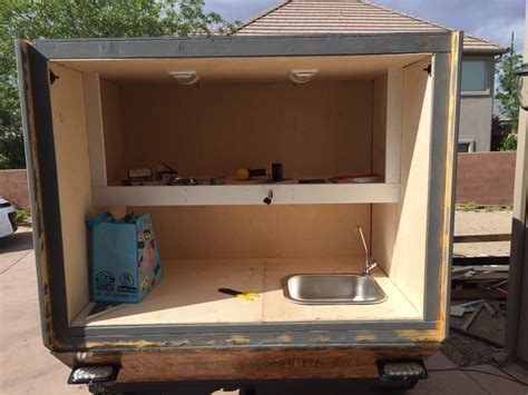 hercules bed liner teardrops n tiny travel trailers view topic father and son s expo trailer build