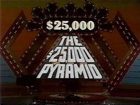 why did the board game version of the 25 000 pyramid not