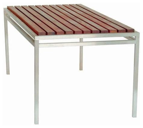 modern outdoor talt 6 table modern patio furniture