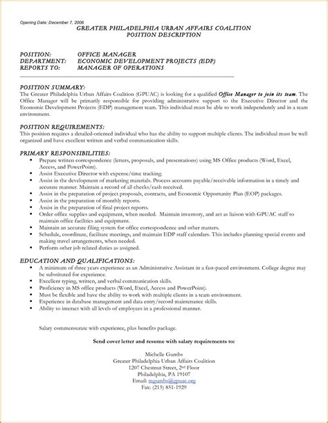 Resume Requirements by Resume With Salary Requirements The Best Resume