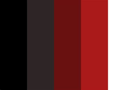 modern colour darkness in hell color palette